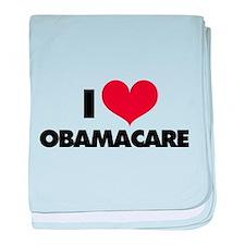 I love Obamacare baby blanket