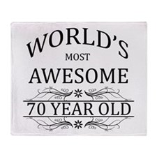 World's Most Awesome 70 Year Old Throw Blanket