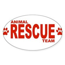 Animal Rescue Team Red Decal