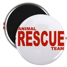 "Animal Rescue Team Red 2.25"" Magnet (10 pack)"