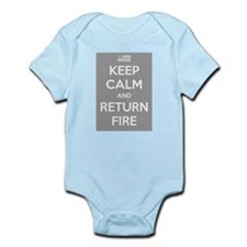 Keep Calm and Return Fire Body Suit