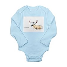 Daryl the Deer Long Sleeve Infant Bodysuit