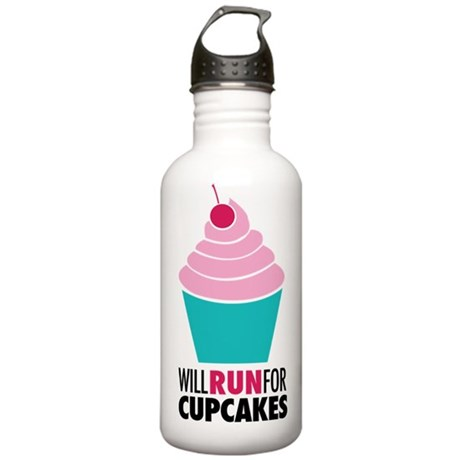 Cupcake RUnner Stainless Water Bottle 1.0L