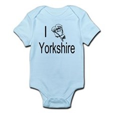 I Love Yorkshire Body Suit