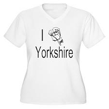I Love Yorkshire Plus Size T-Shirt