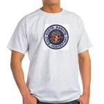 North Dakota Prison Ash Grey T-Shirt