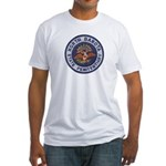 North Dakota Prison Fitted T-Shirt