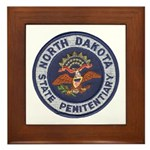 North Dakota Prison Framed Tile