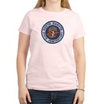 North Dakota Prison Women's Pink T-Shirt