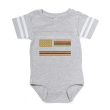 USA flag by valxart.com Body Suit
