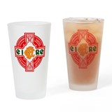 CFD Gaelic Football Logo Drinking Glass