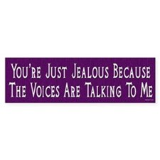Voices Bumper Bumper Sticker