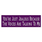 Voices Bumper Sticker