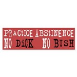 No Bush Bumper Sticker