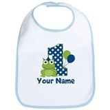 First birthday Cotton Bibs