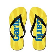 Carly Sunburst Flip Flops