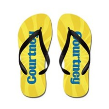 Courtney Sunburst Flip Flops