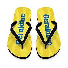 Geraldine Sunburst Flip Flops