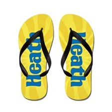 Heath Sunburst Flip Flops