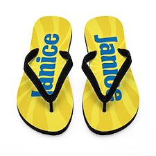 Janice Sunburst Flip Flops