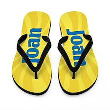 Joan Sunburst Flip Flops