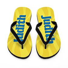 Judith Sunburst Flip Flops