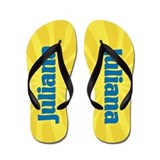 Juliana Sunburst Flip Flops