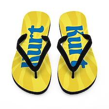 Kurt Sunburst Flip Flops