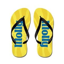 Molly Sunburst Flip Flops