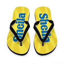 Sheila Sunburst Flip Flops