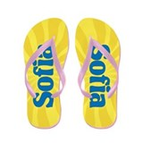 Sofia Sunburst Flip Flops