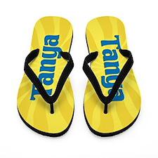 Tanya Sunburst Flip Flops