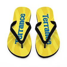 Terrance Sunburst Flip Flops