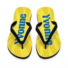 Yvonne Sunburst Flip Flops