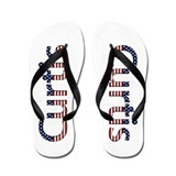Curtis Stars and Stripes Flip Flops