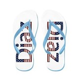 Diaz Stars and Stripes Flip Flops