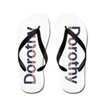 Dorothy Stars and Stripes Flip Flops