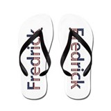Fredrick Stars and Stripes Flip Flops