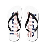Jude Stars and Stripes Flip Flops