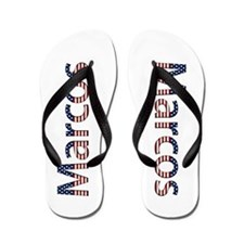 Marcos Stars and Stripes Flip Flops