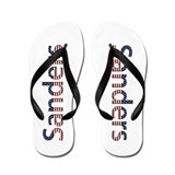 Sanders Stars and Stripes Flip Flops