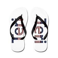 Teri Stars and Stripes Flip Flops