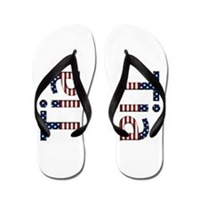 Tia Stars and Stripes Flip Flops