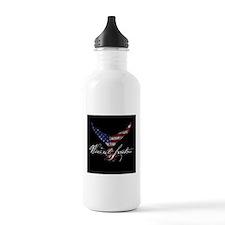 patriotic bluefin tuna Water Bottle