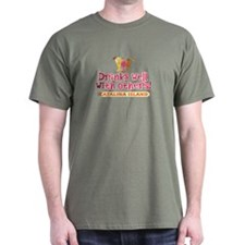 Catalina Island-Drinks Well T-Shirt