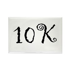 10K Rectangle Magnet
