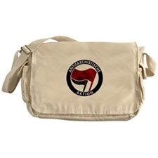 Antifa Logo Messenger Bag
