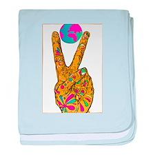 World Peace baby blanket