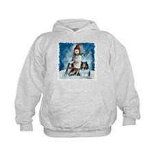 Rough Collie Christmas Gifts Hoodie