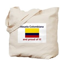 Colombian Grandmother(Abuela) Tote Bag
